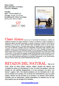 Ficha editorial del libro Retazos del Natural